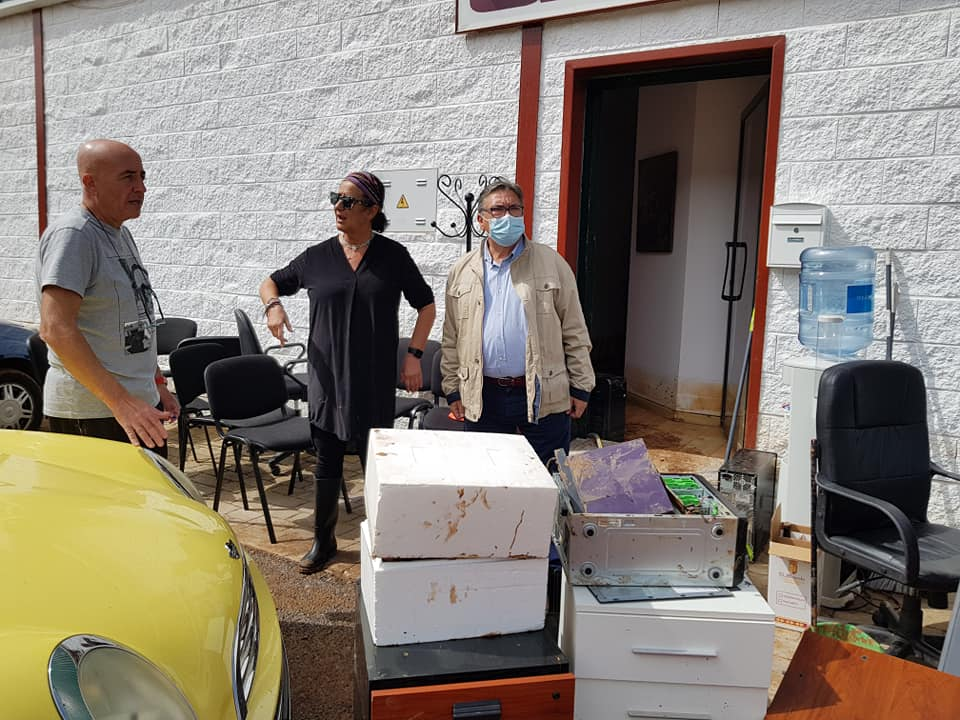 Almendralejo confía en la llegada de ayudas públicas para reparar los daños del temporal