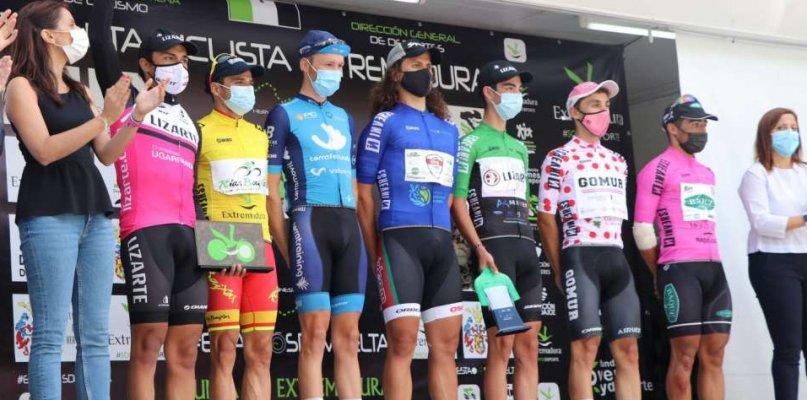 Benjamín Prades se proclama ganador de la Vuelta Ciclista a Extremadura