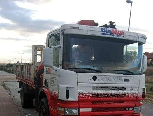 Localizan un camión robado por segunda vez en Moraleja en el municipio madrileño de Villaviciosa de Odón