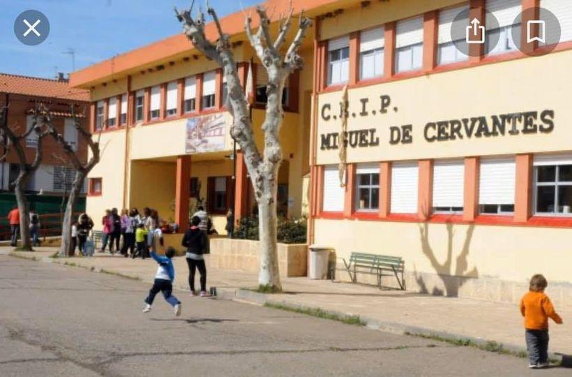 Educación destina 34.900 euros para reparar los daños que el temporal provocó en el CEIP Cervantes