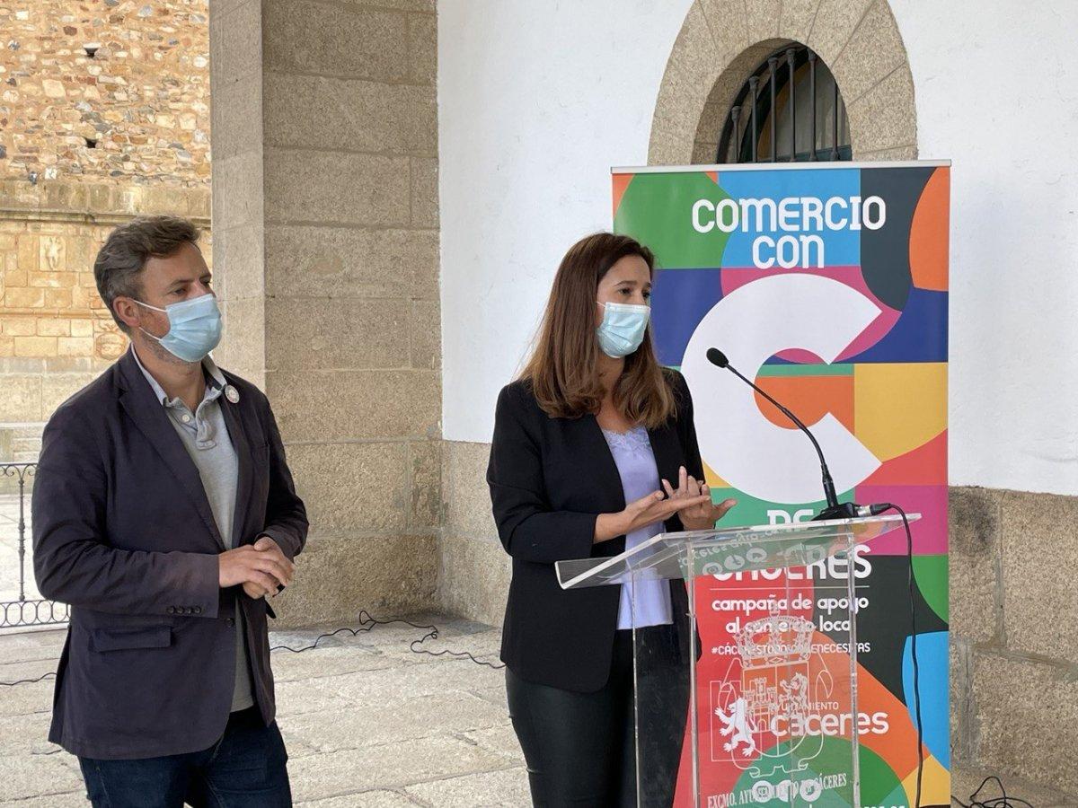 Cáceres apuesta la creación de una gran zona comercial mediante fondos de recuperación