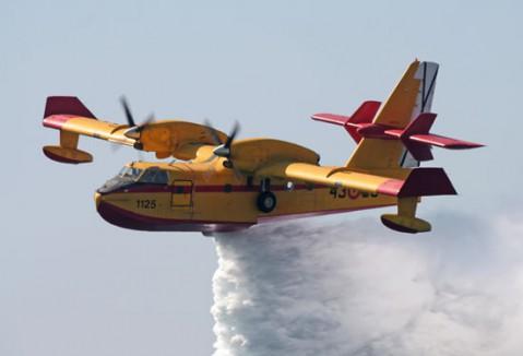 Extremadura acogerá en julio una concentración de hidroaviones donde se darán cita pilotos de diversos países
