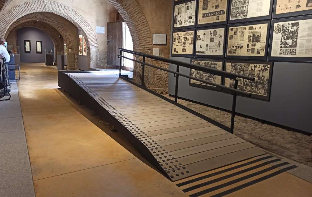 Cultura destina más de 14.000 euros en mejoras de accesibilidad del Museo Vostell-Malpartida