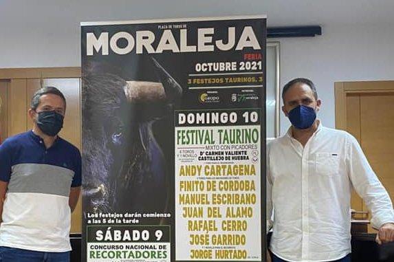 Andy Cartagena y Finito de Córdoba estarán en el festival taurino de Moraleja