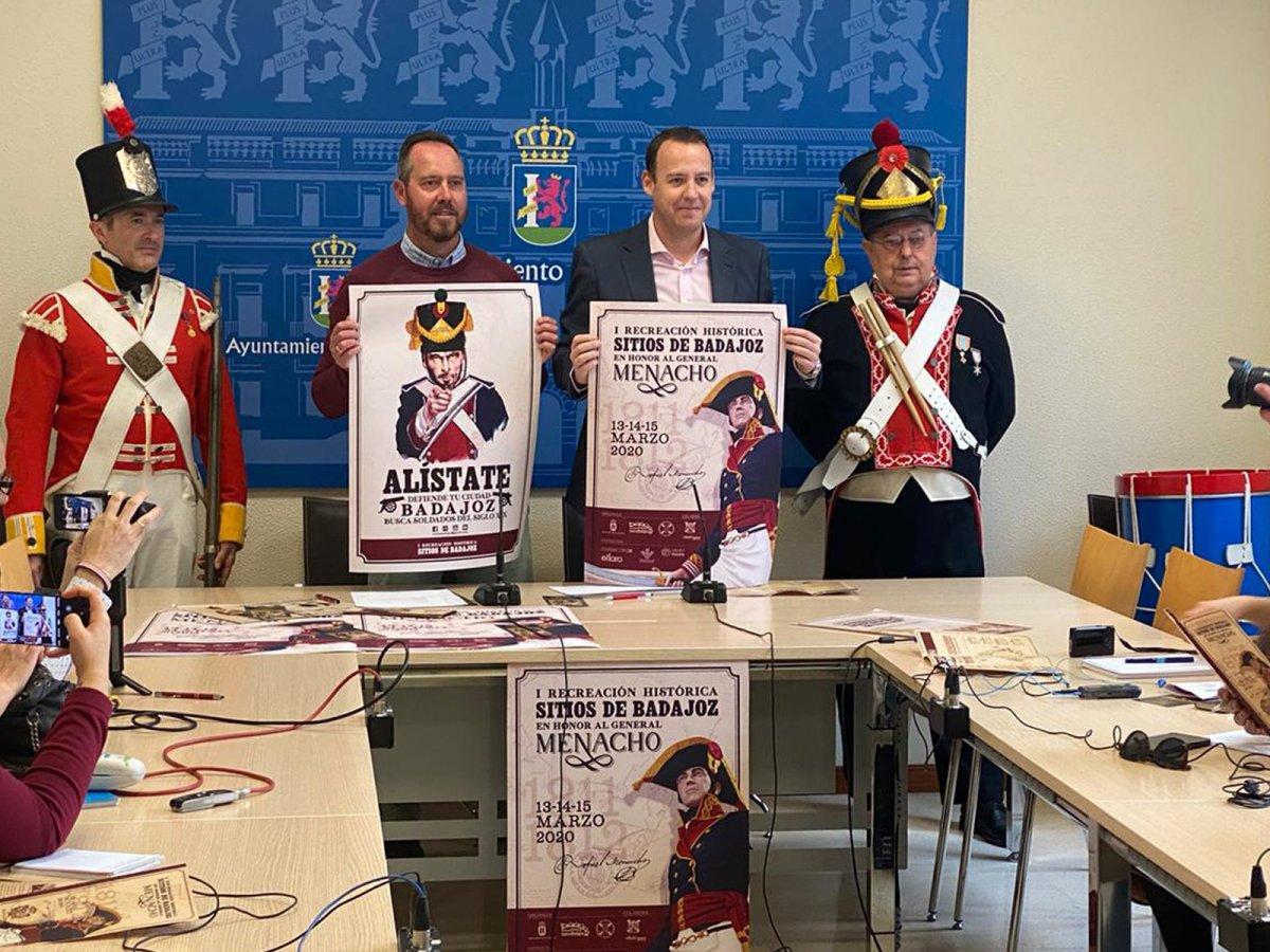 Badajoz celebrará la Recreación de los Sitios en marzo de 2022