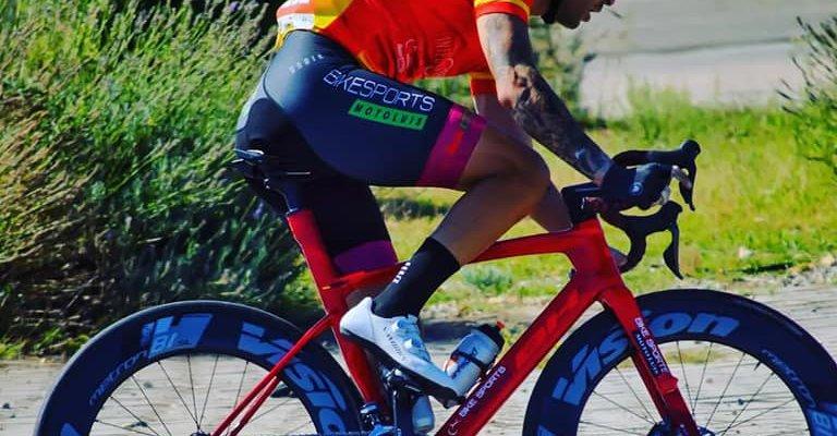 El extremeño Rubén Tanco se proclama campeón de la Copa de España de Ciclismo Adaptado