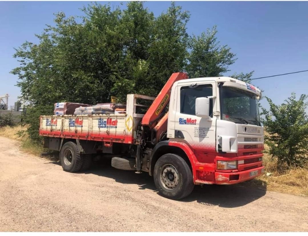 Roban el mismo camión en menos de cuatro meses en una empresa de materiales de construcción de Moraleja